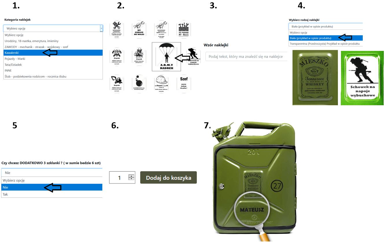 Instrukcja zamawiania produktu